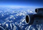 Góry z samolotu